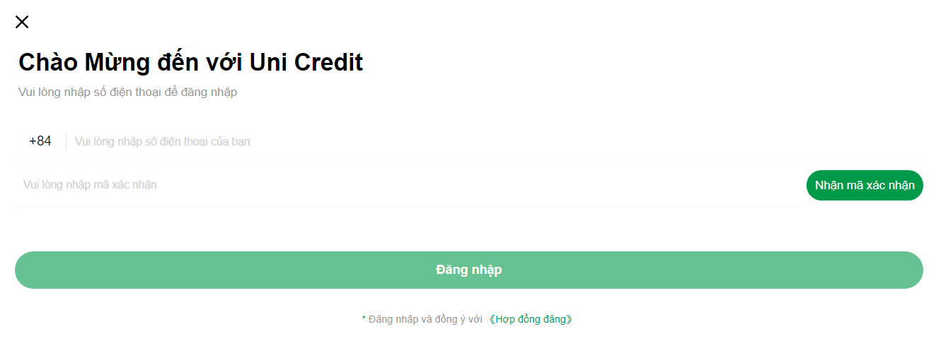Vay Uni Credit