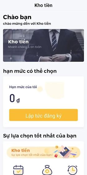Vay app Kho Tiền